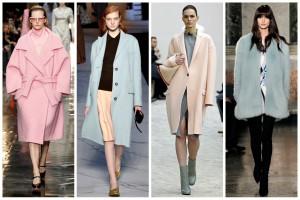 Colores de moda pastel